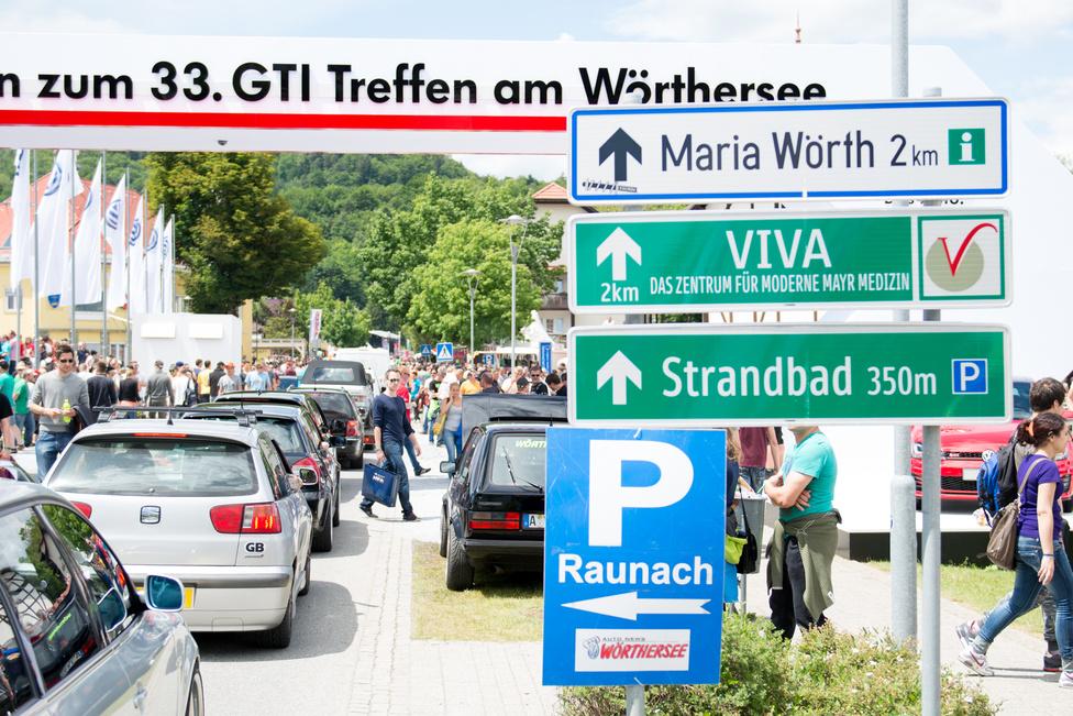 Az első GTI-találkozót 1982-ben egy reinitzi gasztrofesztiválra szervezte rá Erwin Neuwirth osztrák színész, aki egyébként a Kastély a Wörthi-tónál-ban is játszott. Akkora volt a siker, hogy 1985-ben már Niki Laudát köszönthették díszvendégként, de érdekes, hogy a VW konszern hivatalosan csak 2006 óta főtámogató.Azóta persze évi egymillió eurós a keret, és a kiállításhoz a konszern márkái számos bemutatóval járulnak hozzá.