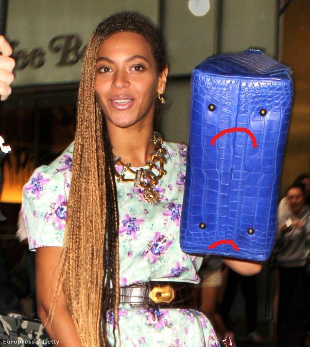 Beyoncé és a szomorú táskája