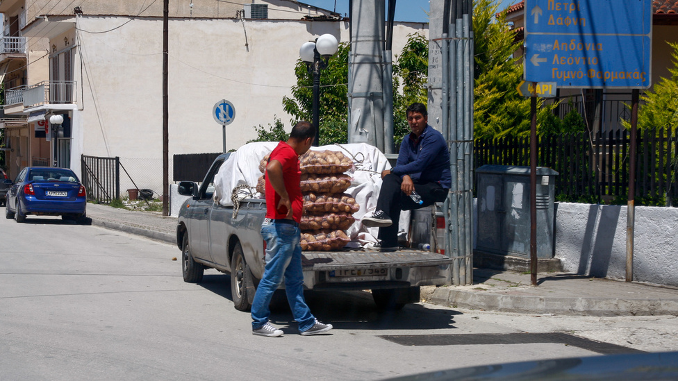 Görögország egyes részein egyszerű a képlet: autó=pickup