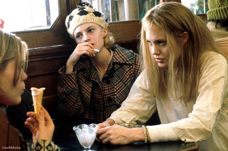 Anglina Jolia az Észvesztő(Girl, Interrupted) című filmben, 1999-ben