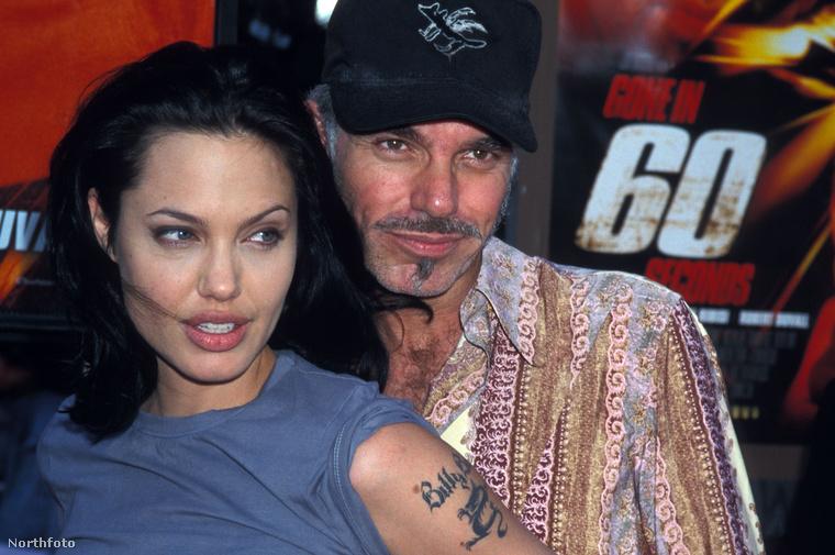 Angelina Jolie és Billy Bob Thorton 1997-ben, a Tolvajtempó (Gone in 60 Seconds) című film bemutatóján