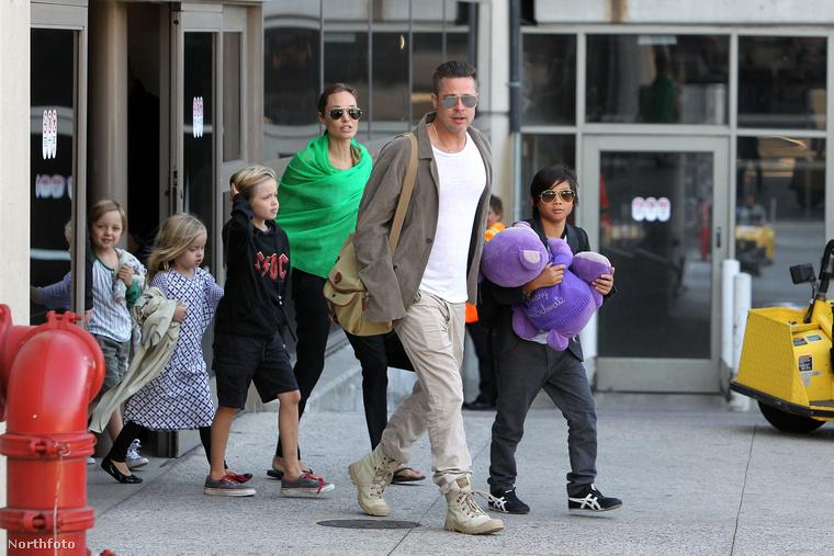 A Jolie-Pitt család