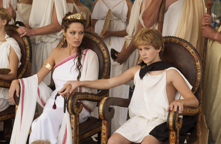 Angelina Jolia a Nagy Sándor (Alexander) című filmben