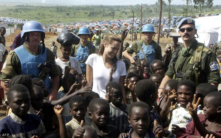 Jószolgálati nagykövetként Kongóban, 2003-ban