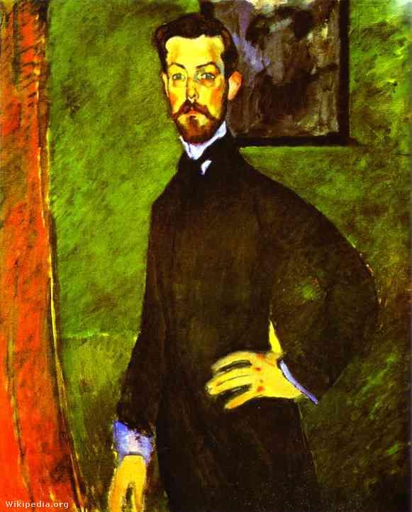 Amedeo Modigliani Paul Alexandre (1909)