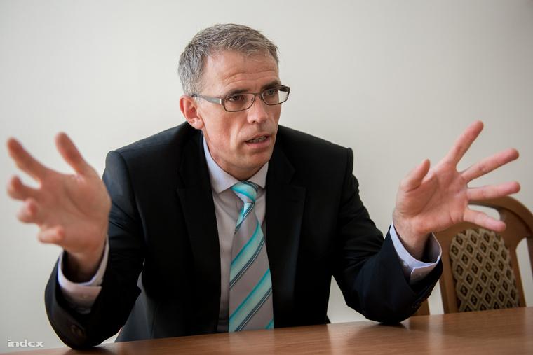 Soós Attila, a miskolci városgazdálkodási és üzemeltetési bizottság elnöke