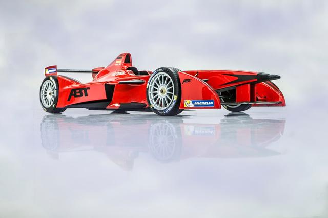 Az  Audi Sport ABT teljesen pirosban