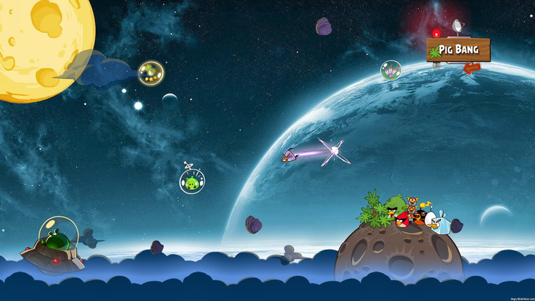 Angry Birds Space 1.4.1 Full Crack For Free Downloads 4