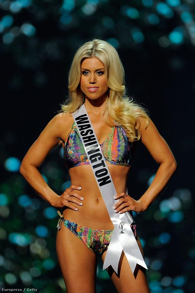 Miss Washington USA Allyson Maureen Rowe