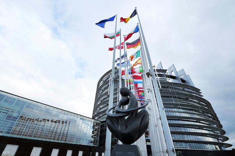 Az EP strasbourgi épülete