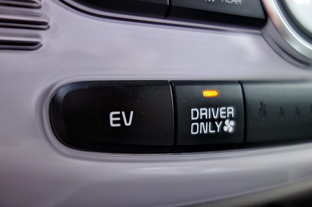 Driver only, azaz csak a vezetőnek: a fűtést lehet teljesen önzővé tenni a kapcsolóval