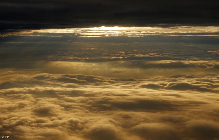 Felhős idő Bécs felett