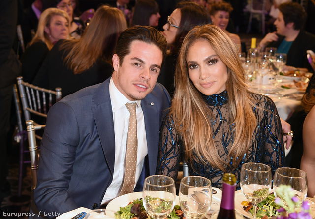 Jennifer Lopez és Casper Smart