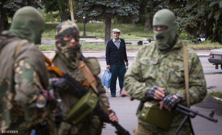 Orosz fegyveresek