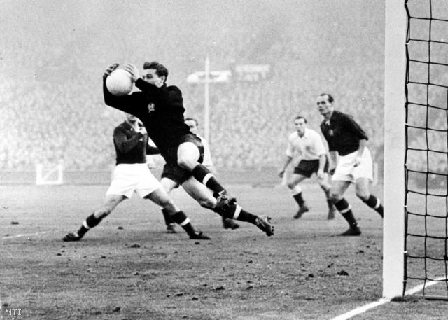 1953. november 25. Anglia–Magyarország: 3:6