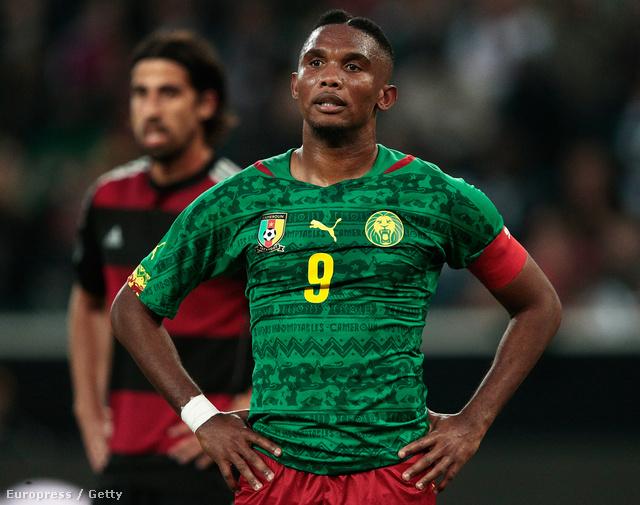 Kamerun a németekkel 2-2-t játszott