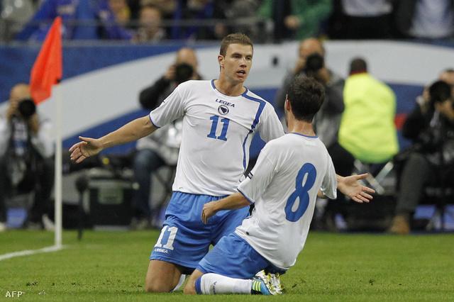 Dzeko és Pjanics - ennyi lenne a bosnyák válogatott?