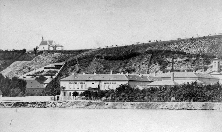 Rózsadomb 1880 körül