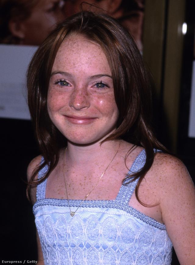 Lindsay Lohan és a szeplői 1998-ban