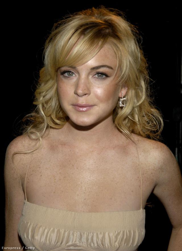 Lindsay Lohan és a szeplői 2005-ben