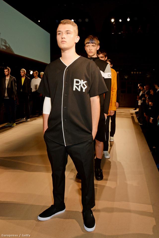 Rafferty Law a DKNY és a Been Trill bemutatóján szerepelt Londonban