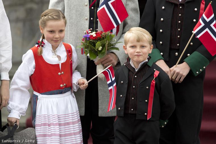 Ingrid Alexandra és Sverre Magnus