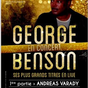Andreas neve a George Benson plakáton