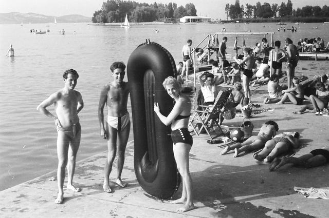 Balatonföldvár, 1959
