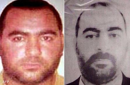 Két, feltételezhetőn Al-Bagdadit ábrázoló igazolványkép