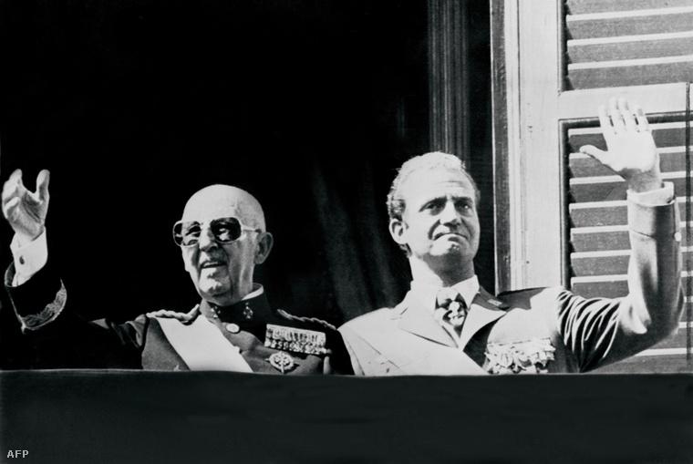 Francisco Franco tábornok és János Károly (1975)