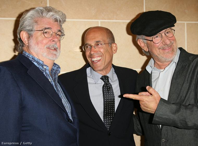 George Lucas, Jeffrey Katzenberg és Steven Spielberg