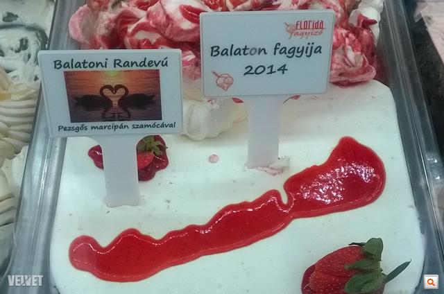 Ezt választották az év legjobb balatoni fagyijának, Balatoni Randevú