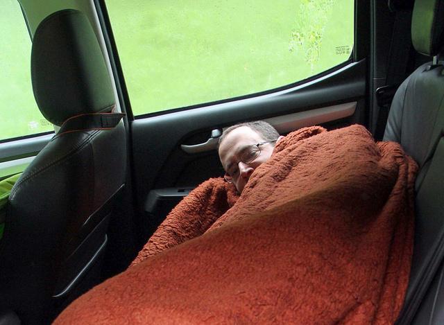 Volt már kényelmesebb alvóhely is (D-Max)
