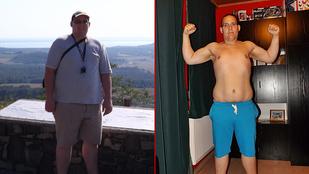 Dániel fél év alatt 47 kilót dobott le
