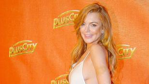 Lindsay Lohan mellszélet mutatott Ausztriában