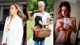 A hét képei Pamela Anderson seggétől Tatár Csilla megbabonázó kalácskészítéséig