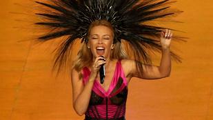 Kylie Minogue megidézte a Moulin Rouge-t a nemzetközösségi játékokon