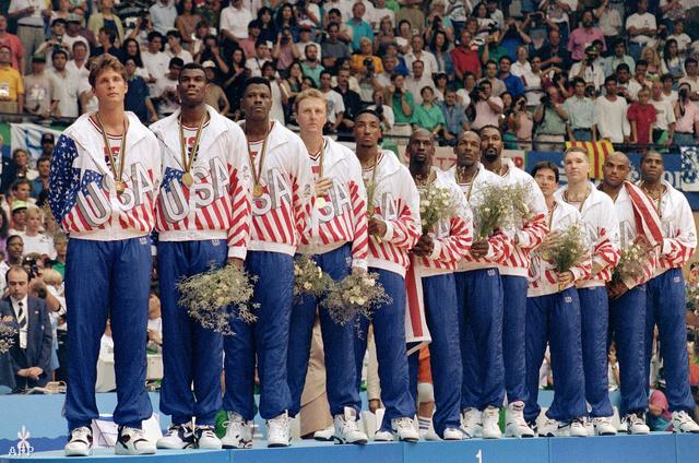 A barcelonai olimpián a legnagyobb amerikai sztárok játszottak