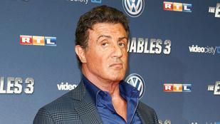 Stallone még mindig egy férfiállat