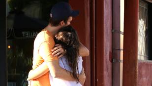 Mila Kunis sírva bújt Ashton Kutcherhez