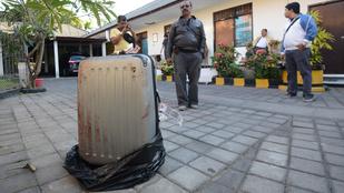 Bőröndbe gyömöszölték a hullát Balin