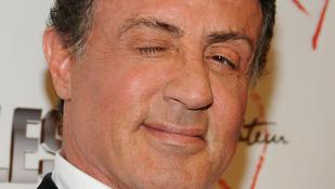 Stallone akkor is menő, amikor hülyét csinál magából