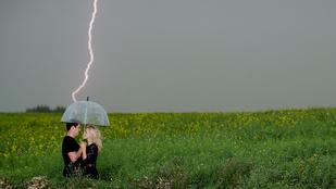 Mázli: villám csapott a lánykérős fotózásba