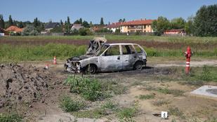 Felgyújtották az autójukat a menekülő rablók
