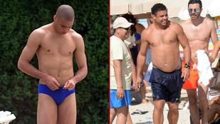 Ennyit hízott Ronaldo 16 év alatt