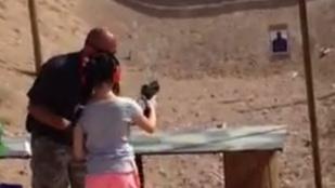 Uzival lőtte agyon oktatóját a 9 éves lány