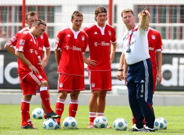 Négy-öt éve a Bayernnél