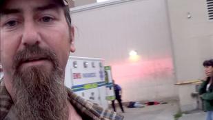 Megrázó dolgot rögzített a gyanútlan videós