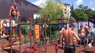 Így tolják a srácok a Street Gymben