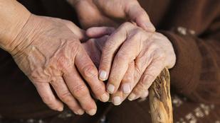 Összeházasodott két 90 éves néni